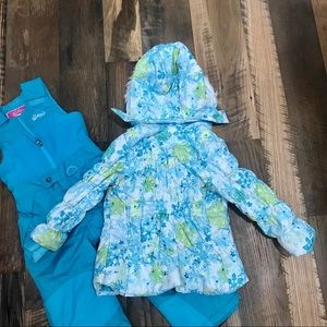 Weatherproof Jackets & Coats - Weatherproof 2pc Winter Coat & Bibs Girl 5